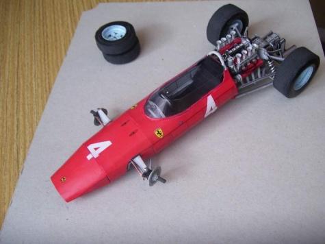 Ferrari 158 L. Bandini, GP Italy 1964