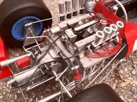 Ferrari 158 vers.B Holandsko 1965