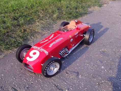 Ferrari 446Bardhal Experimental  GP Indianopolis 1956