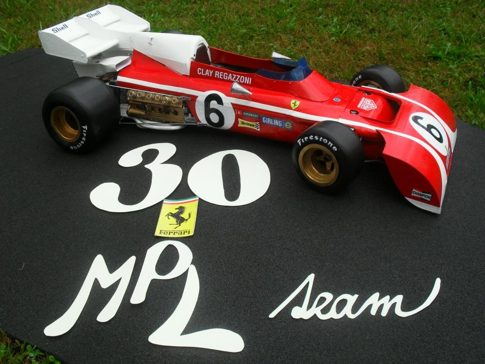 Ferrari 312 B2 vers.B  Jižní Afrika 1972