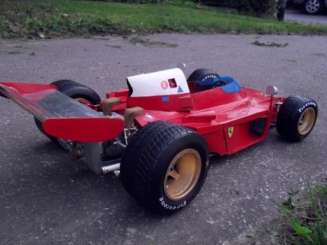 ferrari 312 B3 Spaza Neve - Test car- Modena 1972