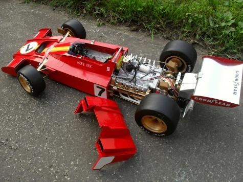 Ferrari 312 B3 vers.A  GP Španělska 1973