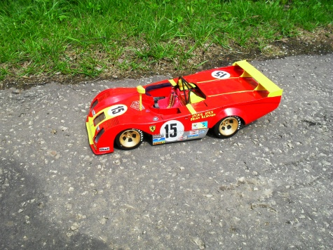Ferrari 312 PB - Le Mans 1973