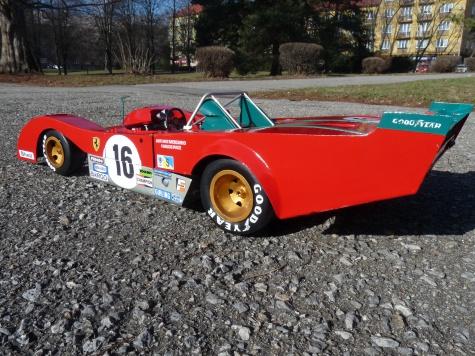 Ferrari 312 PB version C. Le Mans 1973