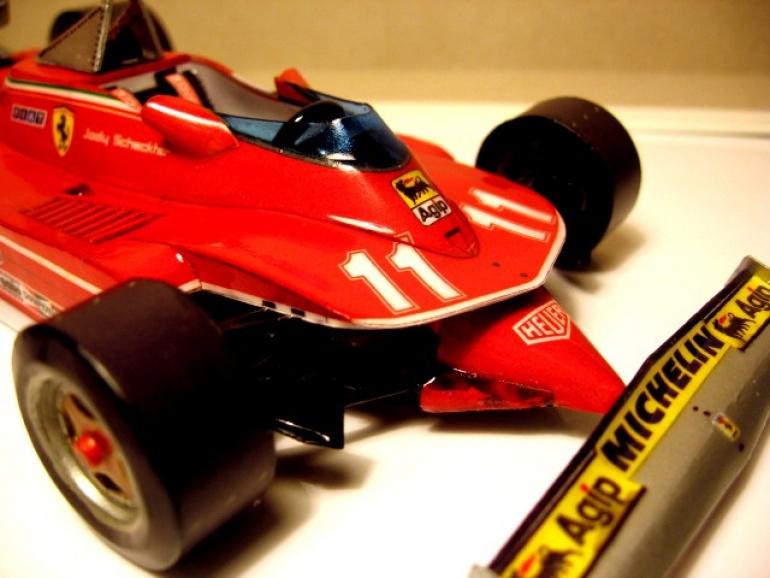 Ferrari 312 T4 - Scheckter