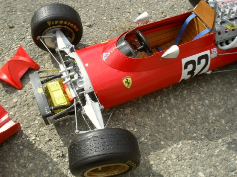 Ferrari 312 tipo 609 - Anglie 1969