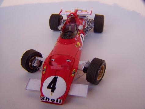 Ferrari 312B, 1970, C. Regazzoni