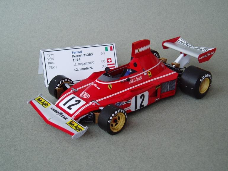 Ferrari 312B3 (1974; Lauda)