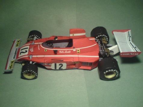 Ferrari 312B3 - 1974, Niki Lauda