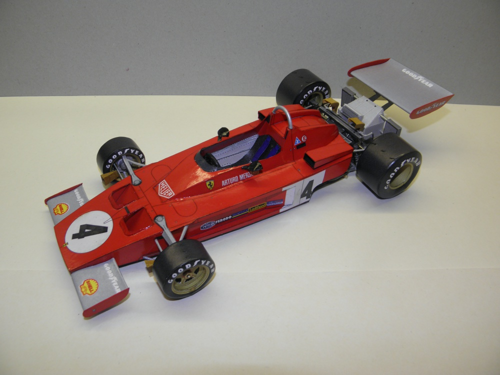Ferrari 312B3, 1973, A. Merzario