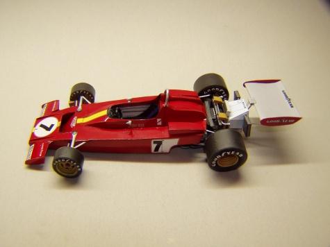 Ferrari 312B3, 1973, J. Ickx, GP Španělska