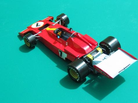 Ferrari 312B3, J. Ickx, Vc španielska 1973