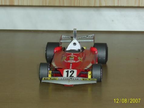 FERRARI 312T  Niki Lauda GP Monaka 1975