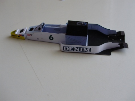 Williams FW 09B Honda,1984,K.Rosberg