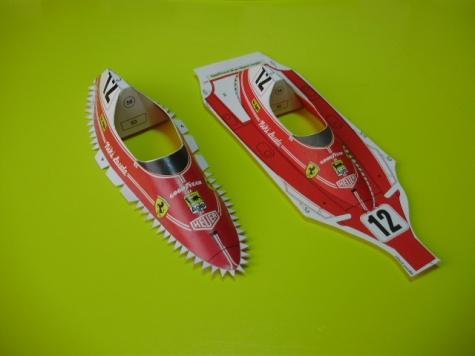 Ferrari 312T , 1:24 , cca 1:18
