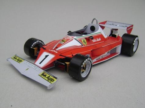 Ferrari 312T2, 1976, N. Lauda