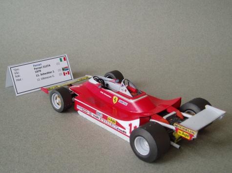 Ferrari 312T4 (1979; Scheckter)