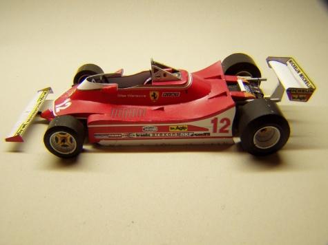 Ferrari 312T4, 1979, G. Villeneuve