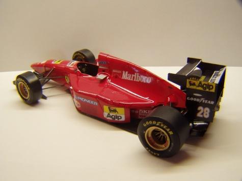 Ferrari 412T1, 1994, G. Berger, GP Monaka