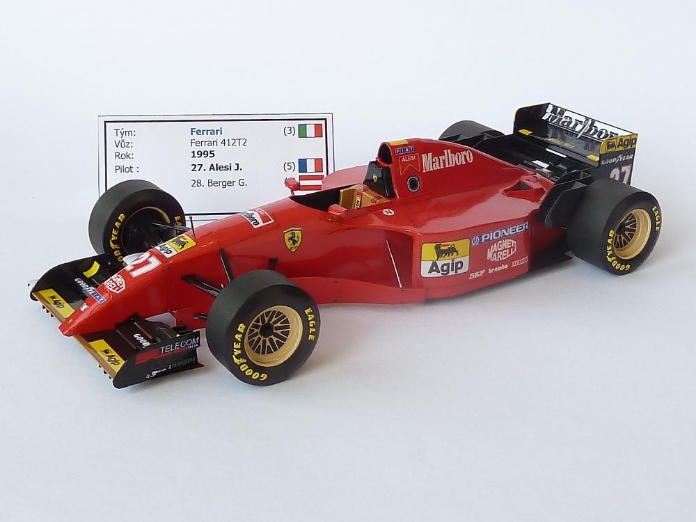 Ferrari 412T2 (1995; Alesi)