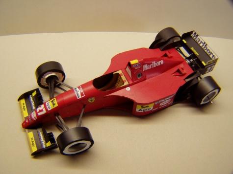 Ferrari 412T2, 1995, J. Alesi