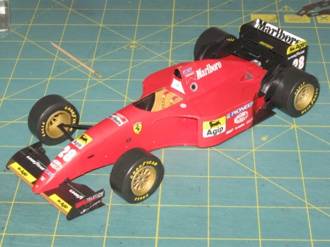 Ferrari 412T2, G. Berger, GP Canada 1995 - beta