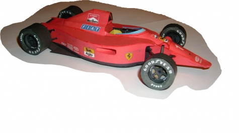 Ferrari 641, 1990, Alain Prost