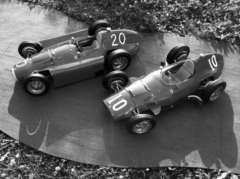 Ferrari - Lancia D 50 Monako 1956