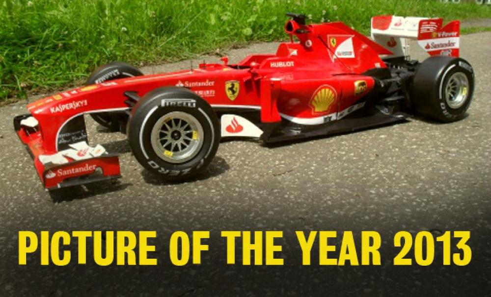 Ferrari F 138 Čína 2013