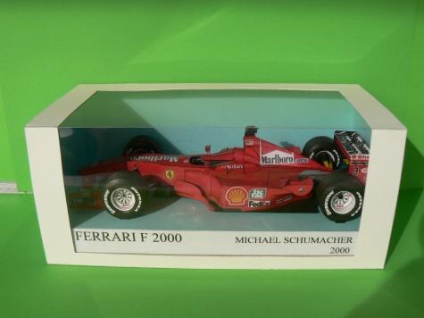 FERRARI F 2000,M.SCHUMACHER