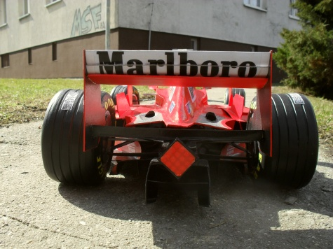 Ferrari F 300 Tower Wings - San Marino 1998