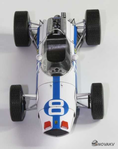 Ferrari F1512, L. Bandini, GP Mexico 1964 - beta