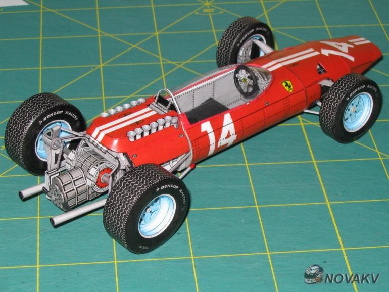 Ferrari F1512, P. Rodriquez, GP Mexico 1965 - beta