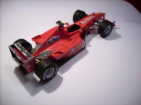 Ferrari F2000, Michael Schumacher