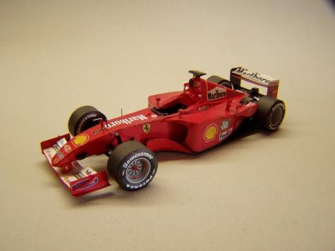 Ferrari F2001, 2001, R. Barrichello
