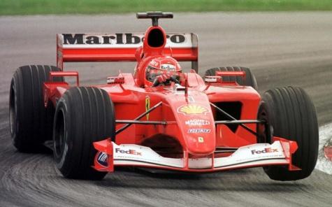 Ferrari F2001,M.Schumacher,2001