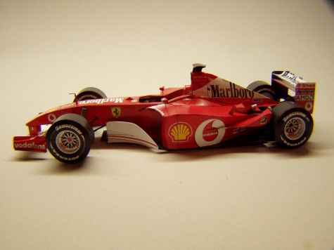 Ferrari F2002, 2002, R. Barrichello