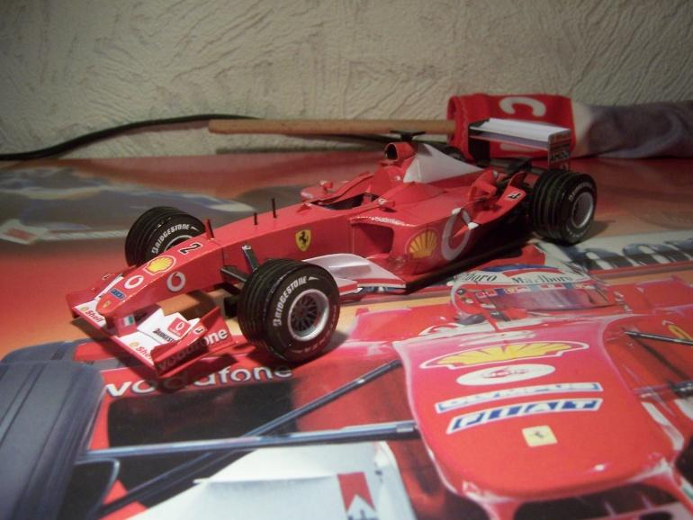 Ferrari F2003-GA R.Barrichello Gp Velké Británie 2003