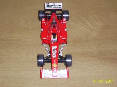 Ferrari F2003-GA M.Schumacher GP Španělska 2003