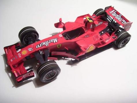 Ferrari F2007, Kimi Raikkonen, Monako GP, 1:24