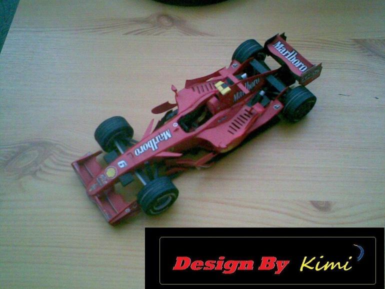 Ferrari F2007,Kimi Räikkönen,Gp Monaka 2007