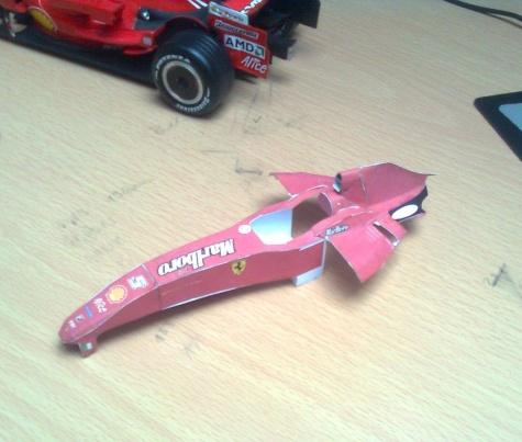 Ferrari F2007 GP Monaco