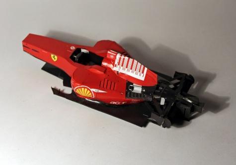 Ferrari F2008 - Italian GP 2008 (Felipe Massa)