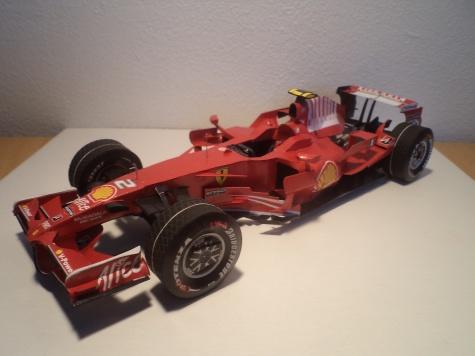 Ferrari F2008 (GP Italy 2008)