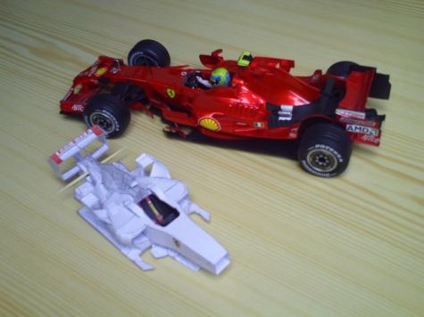 Ferrari F2008 GP ITALY