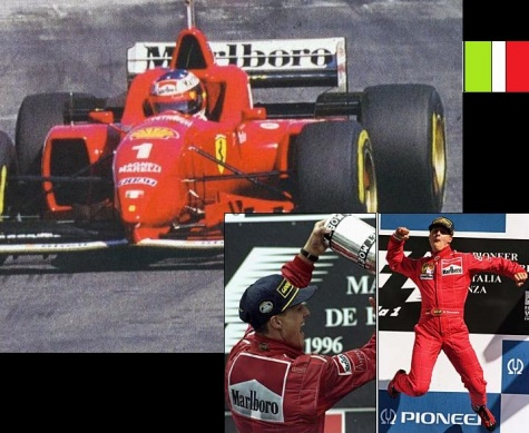 Ferrari F310,Michael Schumacher,1996
