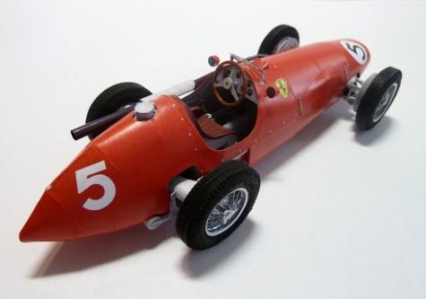 Ferrari F500 British GP´53, A.Ascari