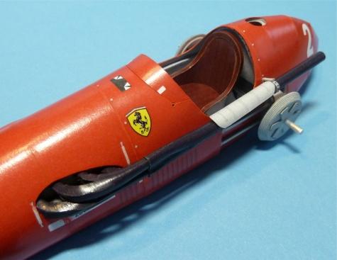 Ferrari F500 VC Německa trénink ´53, N.Farina