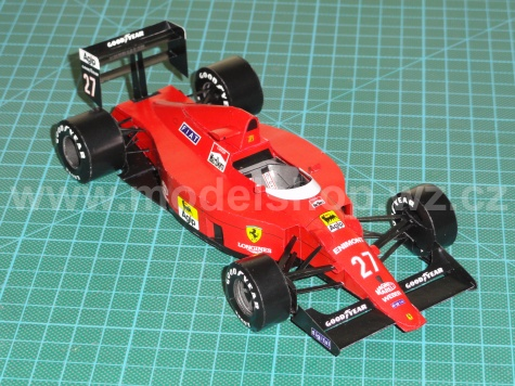Ferrari F640, Vc Portugalska  1989