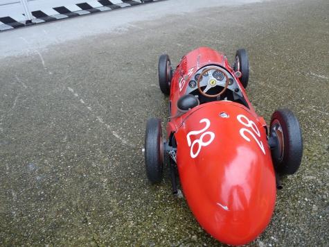FERRARI 125 F1 Itálie 1948- debut Ferrari F1